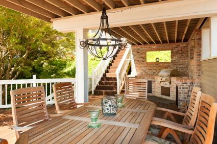 Deck building in Norcross GA by Total Home Improvement Services
