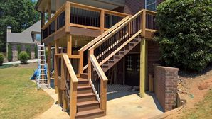 Deck building by Total Home Improvement Services