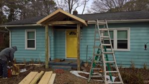 Front Porch Roof in Athens, GA. (2)